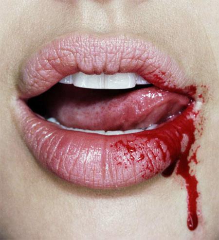 blood-taste