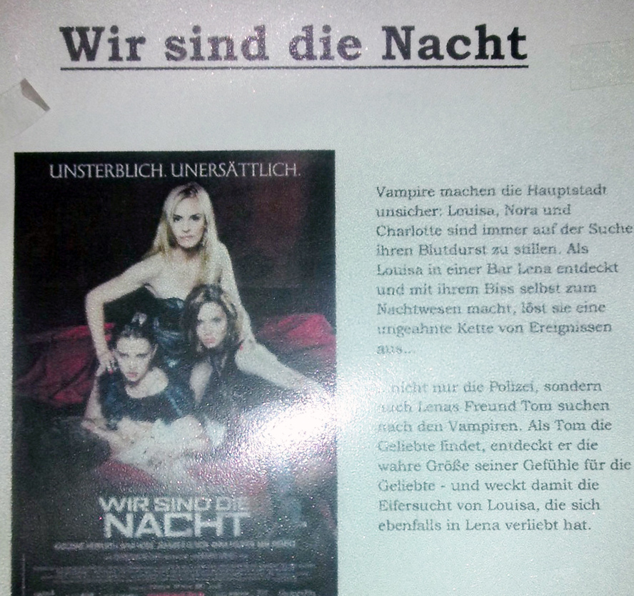 8 - Nacht show