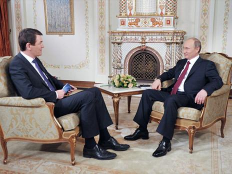 Интервью президента РФ В.Путина немецкой телерадиокомпании ARD