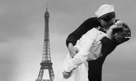 В отношении ко Франции – «Париж и женщины» - американцы мало чем отличались от немцев