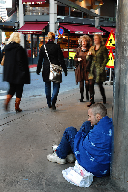 Oslo homeless
