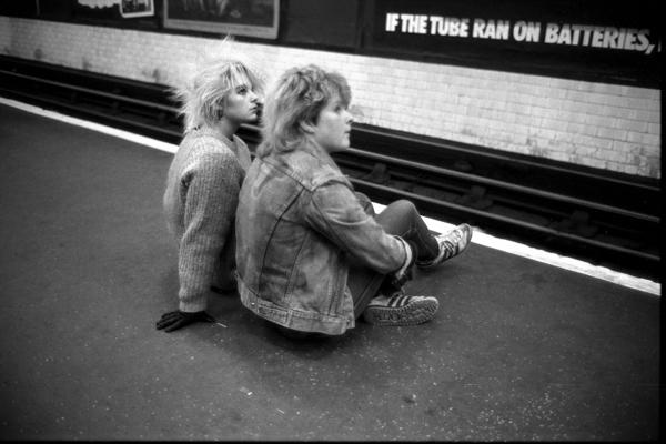 Лондонская подземка 80-ых