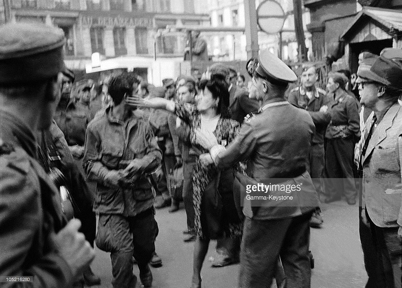 Освободители Франции и французы