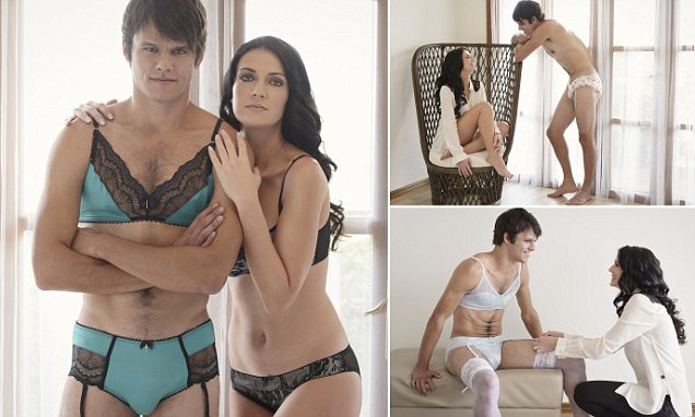 Australian online retailer HommeMystere launches lingerie specially designed for men, Australia, May 2015