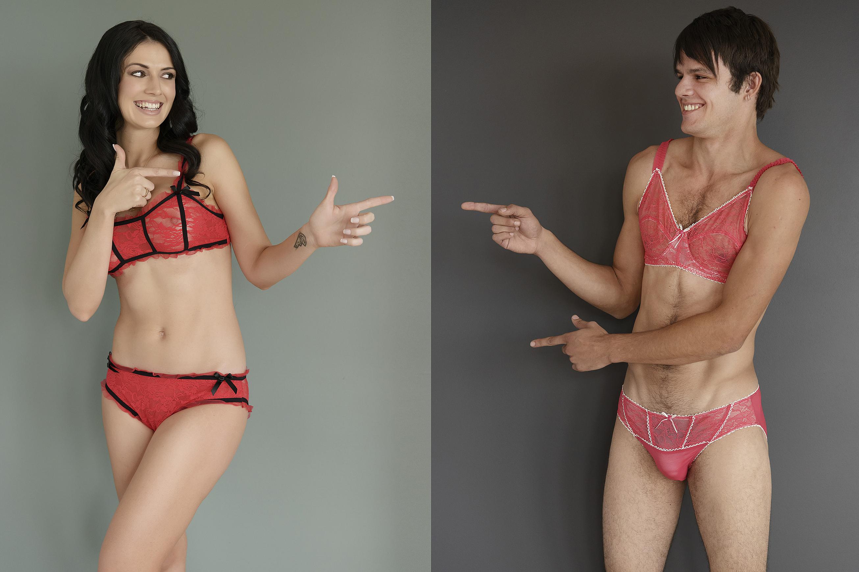 Australian online retailer HommeMystere launches lingerie specially designed for men, Australia, May 2015